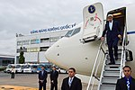 Secretary Kerry Deplanes as He Arrives in Ho Chi Minh City (27200984891).jpg