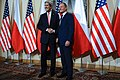 Secretary Kerry Shakes Hands With Polish Prime Minister Tusk (10688249494).jpg