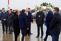 Secretary Kerry is Greeted by German Protocol Officials Upon Arrival in Hamburg (31341207542).jpg