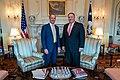 Secretary Pompeo Meets With United Kingdom Foreign Secretary Raab (48482009432).jpg