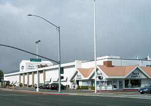 South San Francisco, California - Headquarters of See's Candies on El Camino Real, South San Francisco