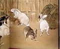 Seiho takeuchi, scimmie e conigli, 1908, 04.jpg