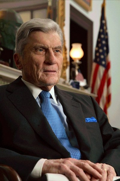 John Warner, Republican politician and Secretary of the Navy from the United States