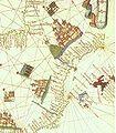 Senyeres a l'atlas de Martines (1578).jpg
