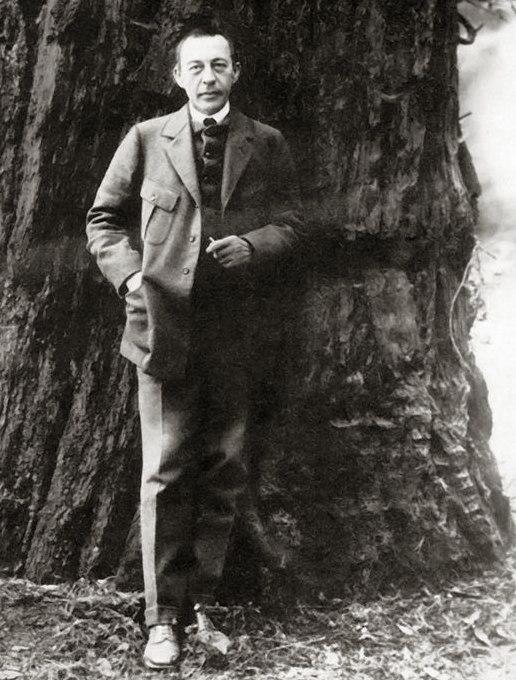 Sergei Rachmaninoff, California