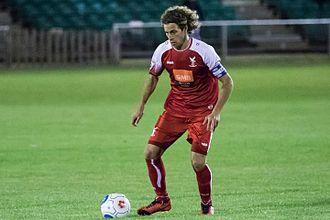 Sergio Torres - Torres on the ball for Whitehawk versus Dartford in 2016