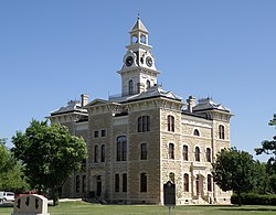 The Shackelford County Courthouse in Albany.