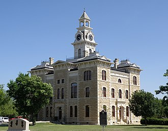 National Register of Historic Places listings in Shackelford County, Texas - Image: Shackelford County Courthouse