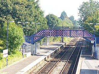 Shalford railway station - Image: Shalford railway station in 2008