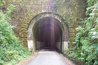 South Devon and Tavistock Railway - Shaugh Tunnel