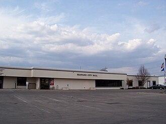 Shawano, Wisconsin - Image: Shawano Wisconsin City Hall