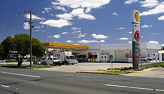 Coles Express - Image: Shell Coles Express petrol station