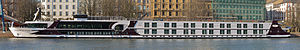 Ship excellence royal on the river Main in Frankfurt Germany - 02.jpg