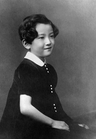 Empress Michiko - The future Empress in 1940