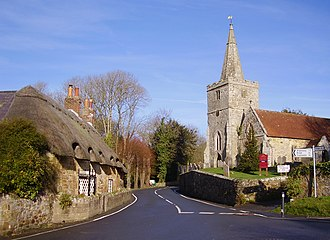 Shorwell - Image: Shorwell, IW, UK