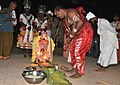 Sidda Vesha Performance at Puduvettu - Manjunatha Devereg Pooje.jpg