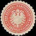 Siegelmarke Der Kaiserl. Kreisdirektor zu Chateau-Salins W0390554.jpg