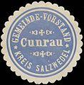 Siegelmarke Gemeinde-Vorstand Kunrau Kreis Salzwedel W0383075.jpg