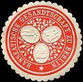 Siegelmarke Hanseatische Gesandtschaft zu Berlin W0223714.jpg