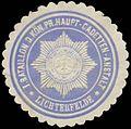 Siegelmarke I. Bataillon der K.Pr. Haupt-Cadetten-Anstalt W0383274.jpg
