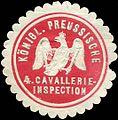 Siegelmarke Königlich Preussische 4. Cavallerie - Inspection W0214700.jpg