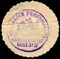 Siegelmarke Königlich Preussisches 4. Westfälisches Infanterie Regiment No. 17 W0229297.jpg