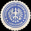 Siegelmarke Königliche Universitäts - Augen - Klinik - Göttingen W0216438.jpg