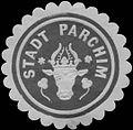 Siegelmarke Stadt Parchim W0326076.jpg