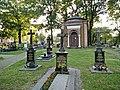 Siemianowice kapliczka na cmentarzu przy wejściu.jpg