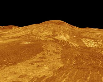 Sif Mons - Image: Sif Mons 3D