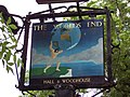 Sign for the World's End Public House - geograph.org.uk - 457040.jpg