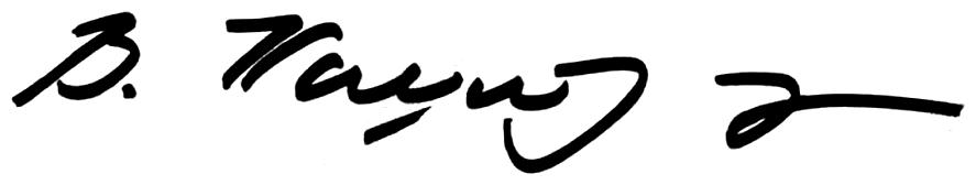 Signature of Vojislav Koštunica