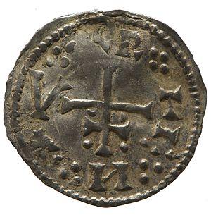 Cnut of Northumbria - Silver penny of Cnut of Northumbria