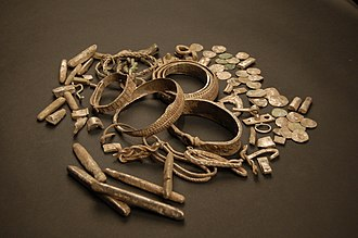 Silverdale, Lancashire - Items from the Silverdale Hoard