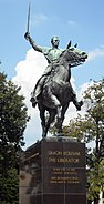 Simón Bolívar statue