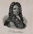 Sir Christopher Wren. Stipple engraving by P. Audinet, 1794, Wellcome V0006654ER.jpg