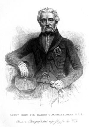 Sir Harry Smith, 1st Baronet - Image: Sir Harry G W Smith