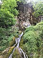 Skakavac waterfall at Jankovac, Papuk mountain.jpg