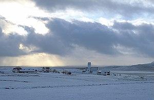 Skálholt - Skálholt in winter