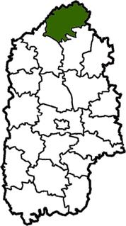 Slavuta Raion Former subdivision of Khmelnytskyi Oblast, Ukraine