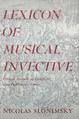 Slonimsky - Lexicon of musical Invective.PNG