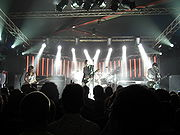 """The Smashing Pumpkins on May 24, 2007, at """"den Atelier"""", Luxembourg"""