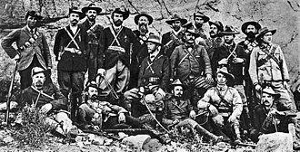 Jan Smuts - Jan Smuts and Boer guerrillas during the Second Boer War, c. 1901