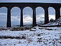 Snowman at Ribblehead - geograph.org.uk - 1151874.jpg