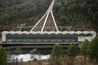 Murray Hydroelectric Power Station - Image: Snowy Hydro Murray 1