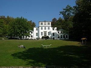 Sophienholm - Sophienholm, lake-side view