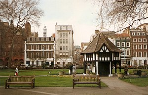 Soho Square - View of Soho Square in 1992