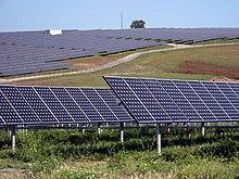 Centrale elettrica solare da 11MW vicino a Serpa, in Portogallo