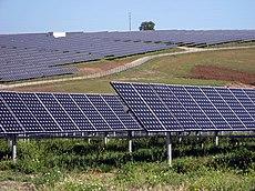 Centrale elettrica solare da 11 MW vicino a Serpa, in Portogallo