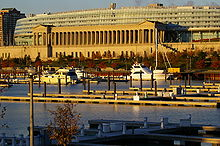 Soldier Field east side and marina.JPG